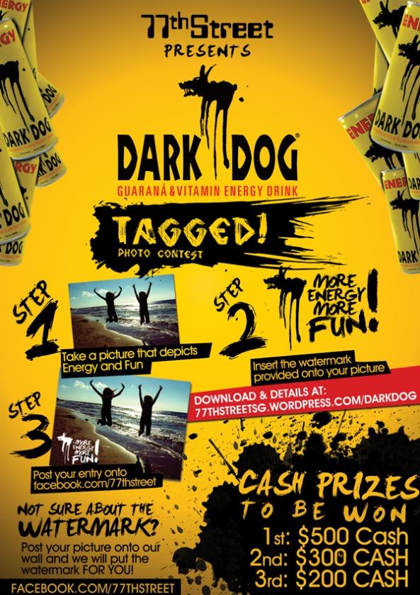 DarkDog's TAGGED Contest